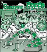 Genzyme = Greed