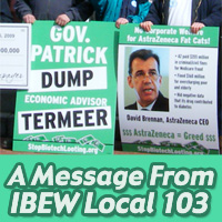 A Message from IBEW Local 103