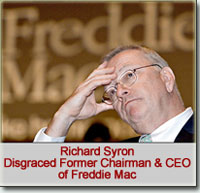 Richard Syron, Disgraced Former Chairman and CEO of Freddie Mac